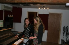 In the studio (Supersonic Productions)